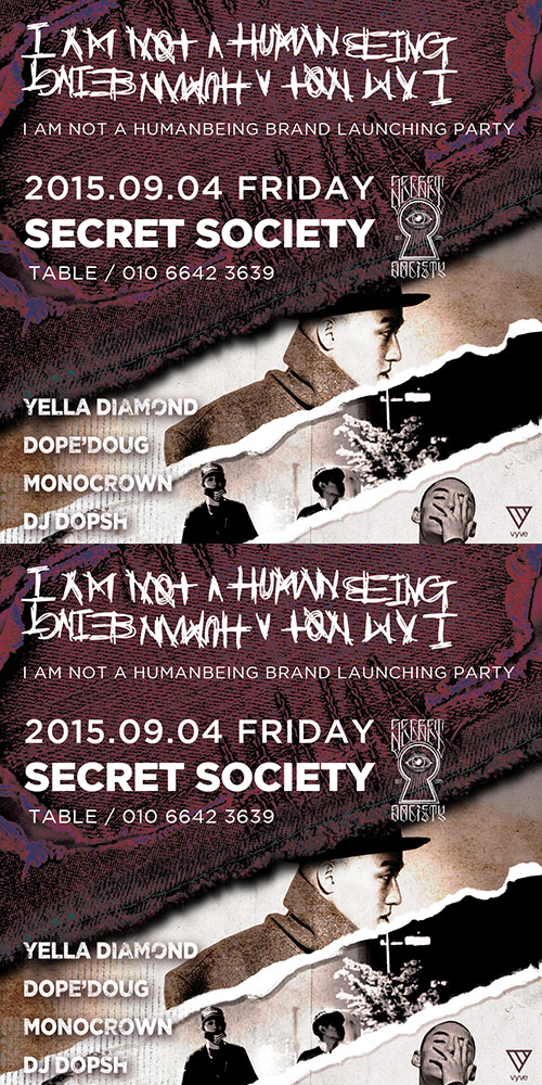 BRAND LAUNCHING PARTY  2015.09.04 Secret Society