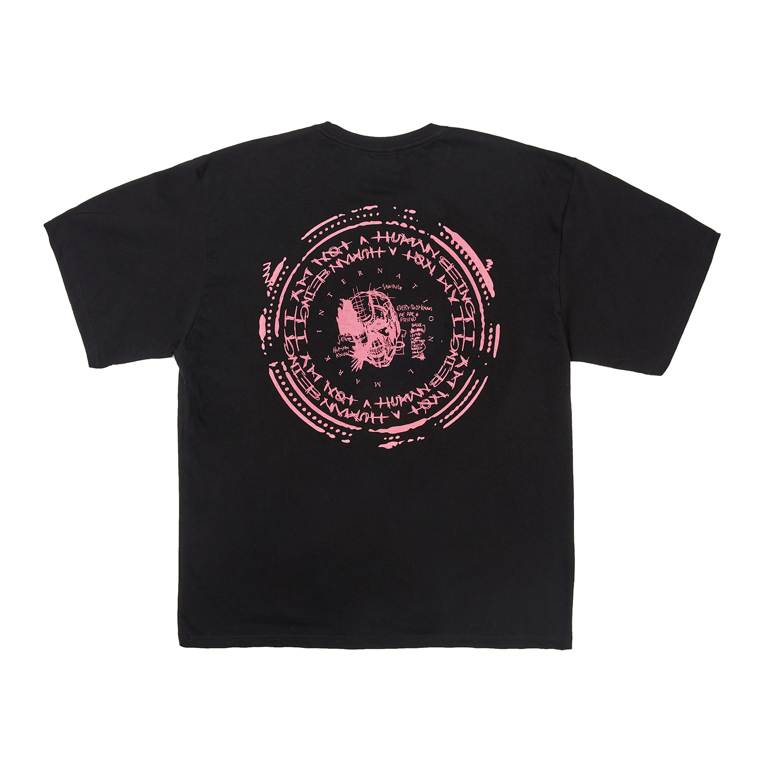 Back Stamped Tee - BLACK