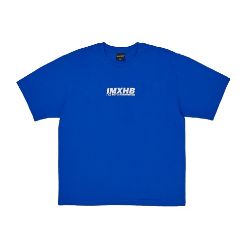 Word Short Sleeve T-Shirt - BLUE