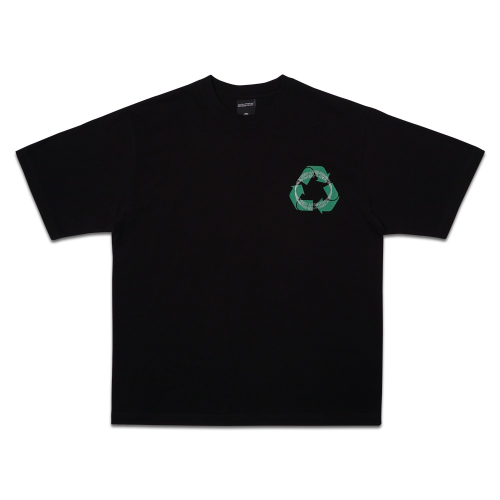 RECYCLE TEE - BLACK