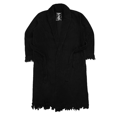 IMXHB CIRCLE LOGO ROBE - BLACK