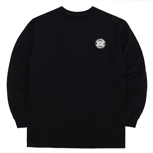 [18FW] IMXHB CIRCLE LOGO LONG SLEEVE T SHIRTS - BLACK/WHITE